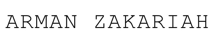 ARMAN ZAKARIAH - Freelance Web Designer in Malaysia